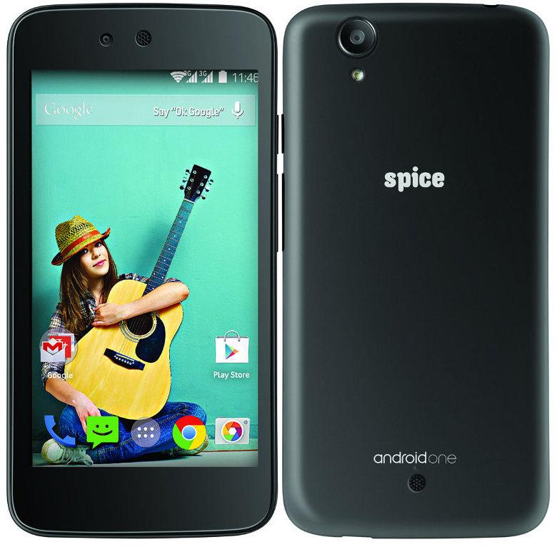 Spice Dream UNO (Mi-498) - первый официальный смартфон на платформе Android One (фото: fonearena.com).
