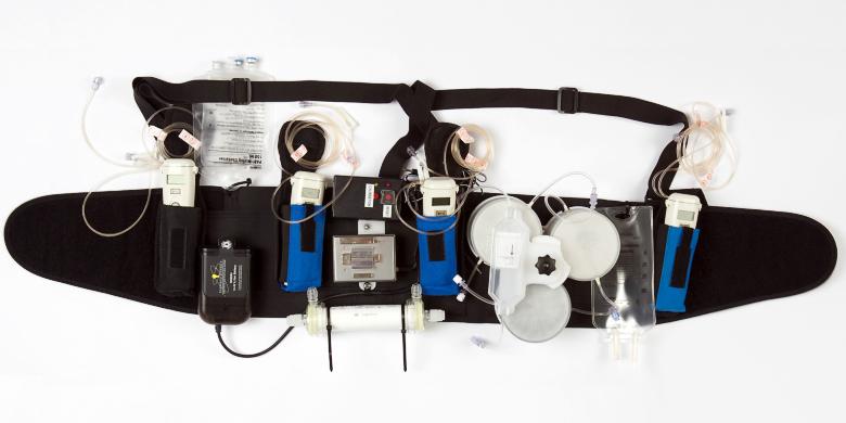 Устройство носимого диализного аппарата