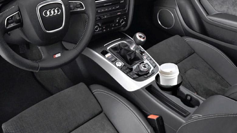 Безопасный автомобильный держатель для стаканов