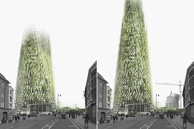 В Лондоне может появиться небоскреб из мусора