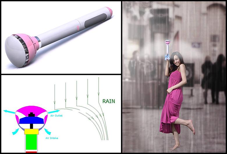 Невидимый зонт без купола