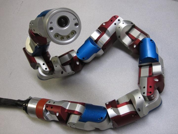 Модульная конструкция змеи унаследована от индустриальной эпохи.