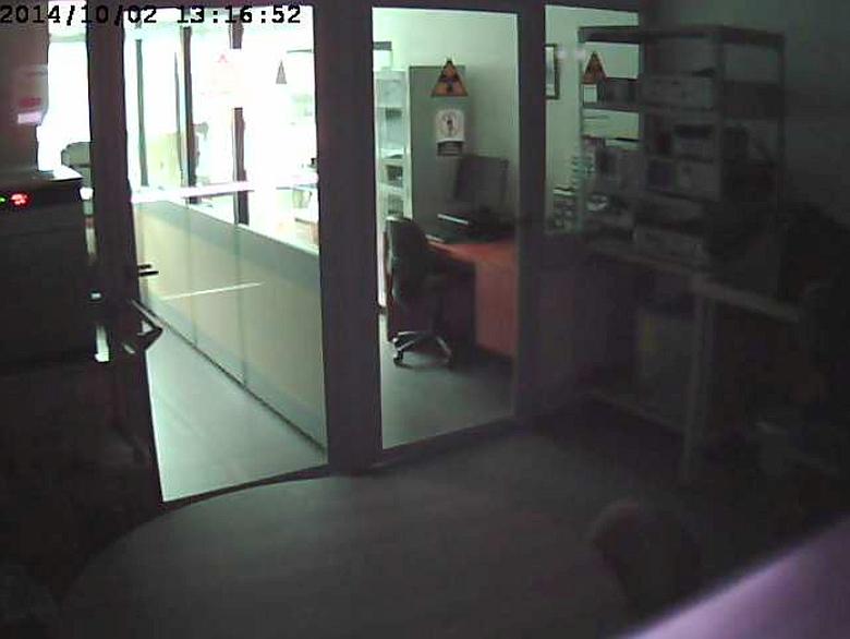 Камера безопасности в больнице св. Изабеллы, Медельин, Колумбия.
