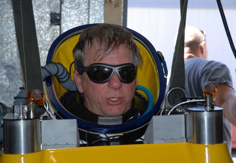 Алан Юстас готовится к прыжку (фото: paragonsdc.com).