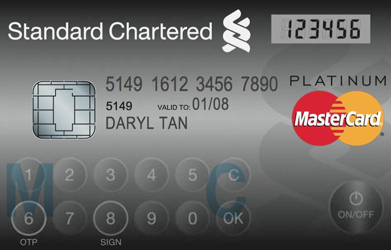 MasterCard Platinum со встроенной сверхтонкой батареей (фото: mastercard.com).