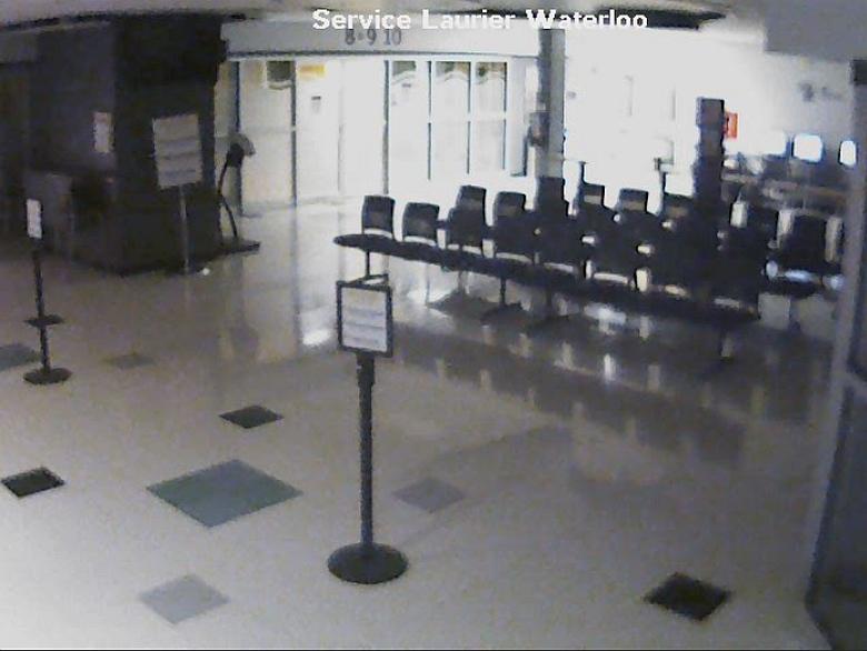 Камера в аэропорту Манкейто, США.