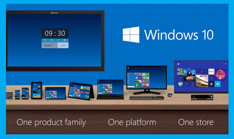 Универсальность - ключевая концепция Windows 10 (фото: zdnet.com).