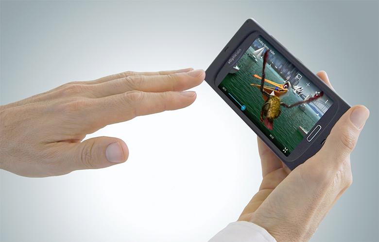 Управление смартфоном с помощью ультразвука