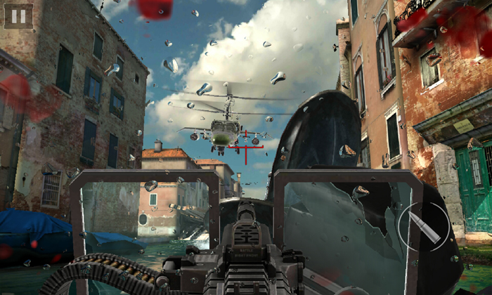 Modern Combat 5. На устройствах с чипсетами MediaTek эта игрушка выглядит лучше, чем на других