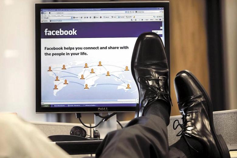 Facebook на работе станет нормой (изображение: inforum.com).