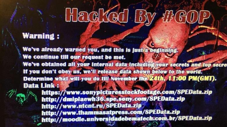 Hacked By #GOP (изображение: theverge.com).