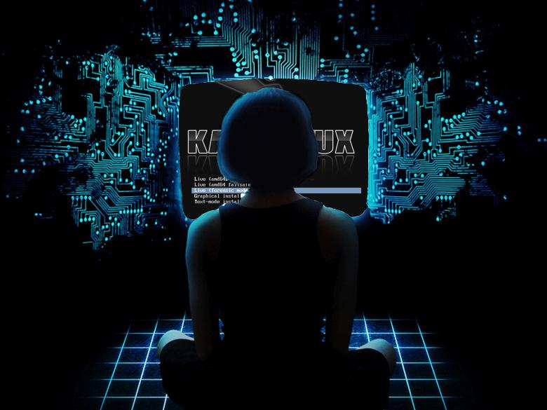 Kali Linux collage