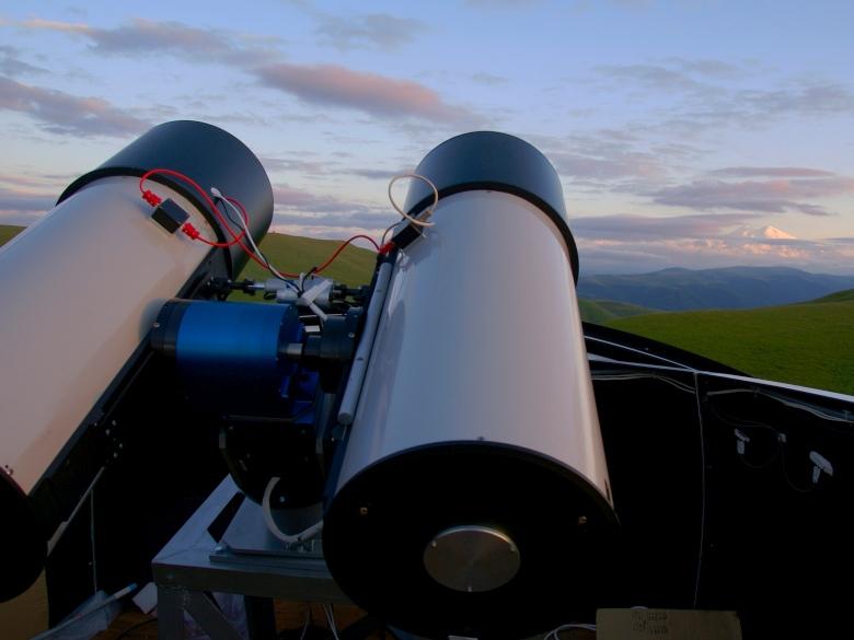 Телескоп сети МАСТЕР под Кисловодском (фото: фото: master.sai.msu.ru).
