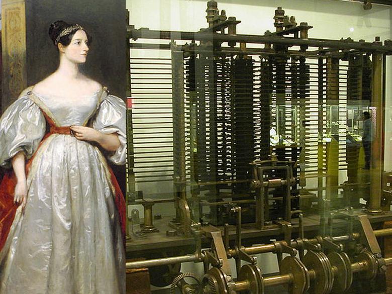 Ада Августа Кинг, графиня Лавлейс и аналитическая машина Бэббиджа (изображение: danielaedintorni.com).