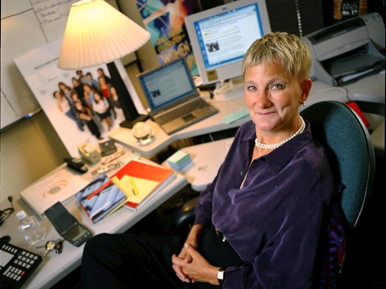 Анита Борг (фото: globalfundforwomen.org).