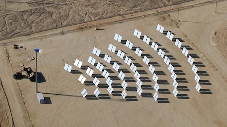 Солнечная электростанция RayGen гибридного типа (фото: reneweconomy.com.au).
