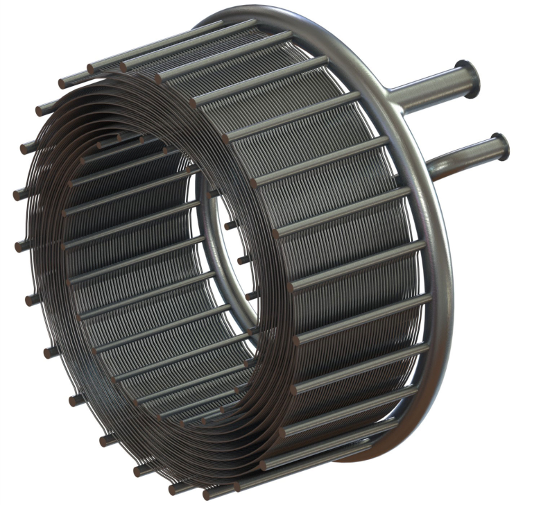 Теплообменная установка в гибридном двигателе SABRE.