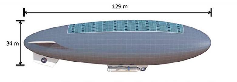 Пилотируемый ЛА для изучения Венеры в рамках программы HAVOC (изображение: nasa.gov).