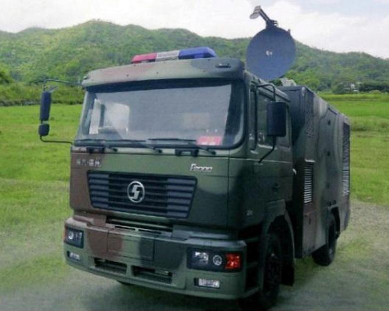 Установка нелетального действия WB-1 производства Poly Group (фото: top81.cn).