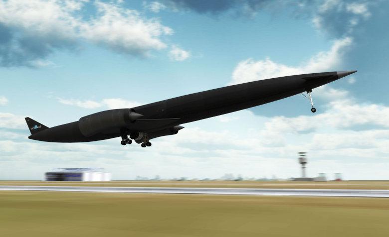 Компьютерная симуляция взлёта ракетоплана Skylon G2 (здесь и далее изображение: reactionengines.co.uk).
