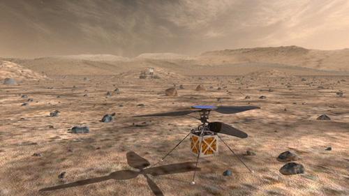 Дрон может оказаться полезным для дополнения группировки марсоходов, считают в NASA.