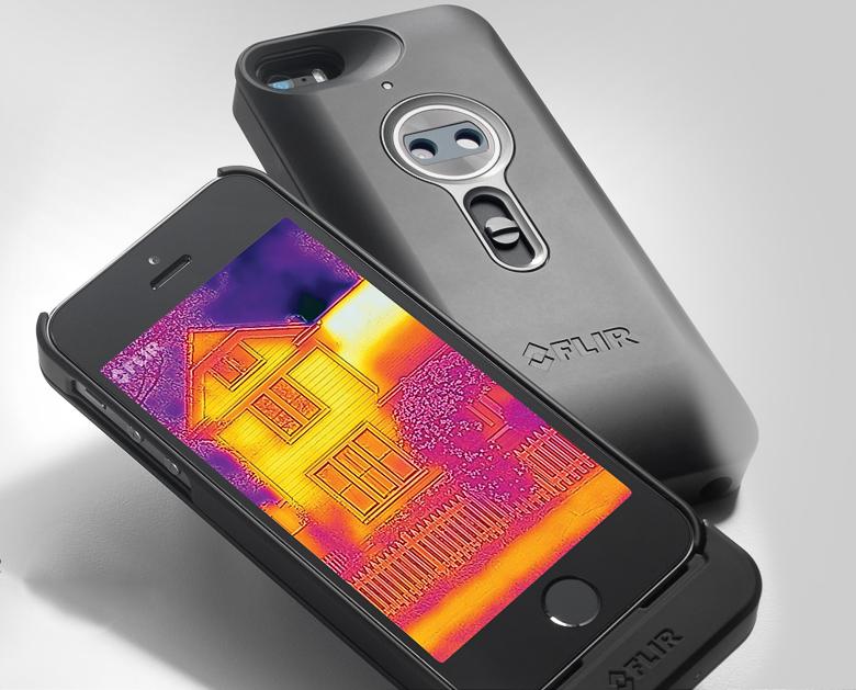 Модуль FLIR One для IPhone 5/5s (фото: flir.ru).
