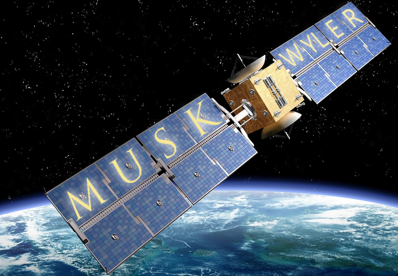 Илон Маск и Грейг Уайлер могут создать независимые спутниковые групиировки (коллаж по материалам techweekeurope.co.uk).