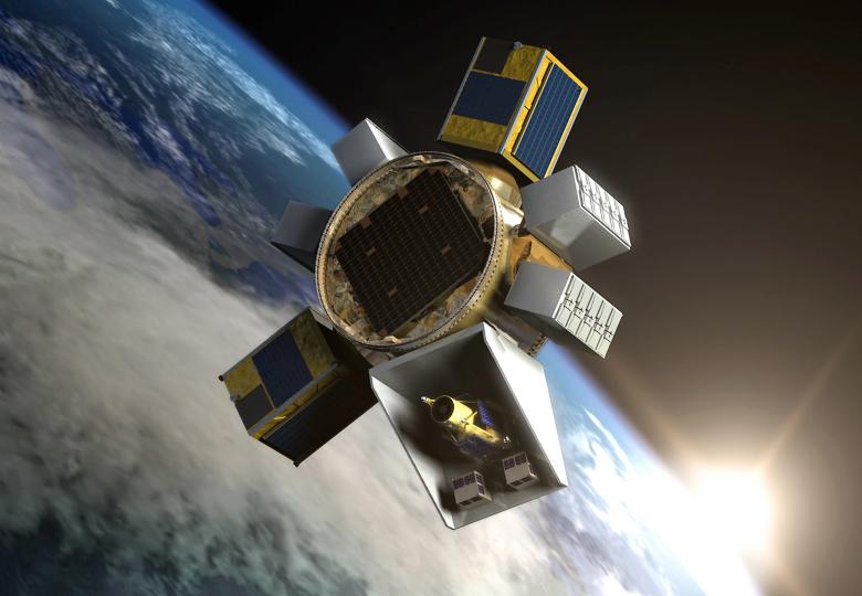 Перспективная платформа SHERPA для размещения спутников на разных орбитах (изображение: spacenews.com).
