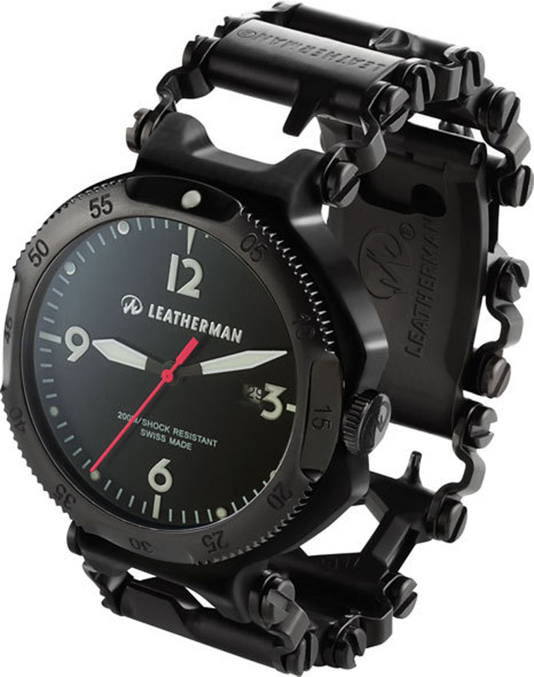 Не умные, но умелые часы-мультитул от Leatherman