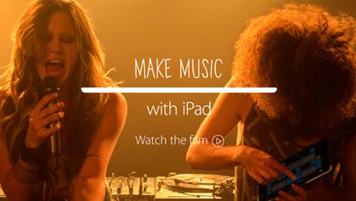 Apple выпустила рекламный ролик для профессиональных артистов.