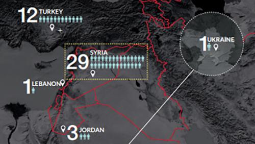 Хакеры украли гигабайты данных у сирийской оппозиции, в том числе планы наступательных действий.