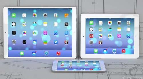 Появились первые неофициальные изображения будущего планшета Apple iPad Plus.