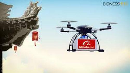 Alibaba начал использовать дроны для доставки заказов интернет-магазина.