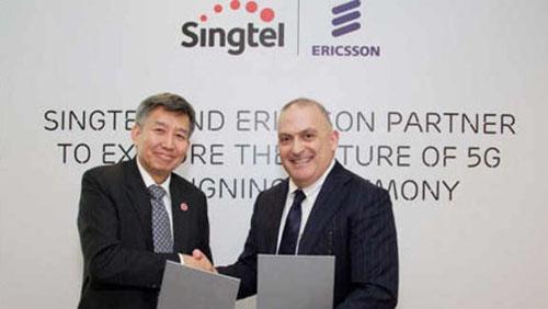 Singtel и Ericsson будут совместно разрабатывать технологии для сетей 5G.