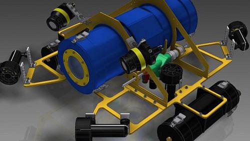 Ученые Юго-Западного госуниверситета (Курск) летом проведут испытания прототипа подводного робота-разведчика.