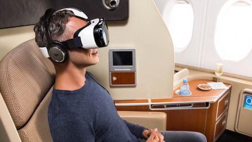 Qantas Airlines предложит пассажирам первого класса очки Gear VR.