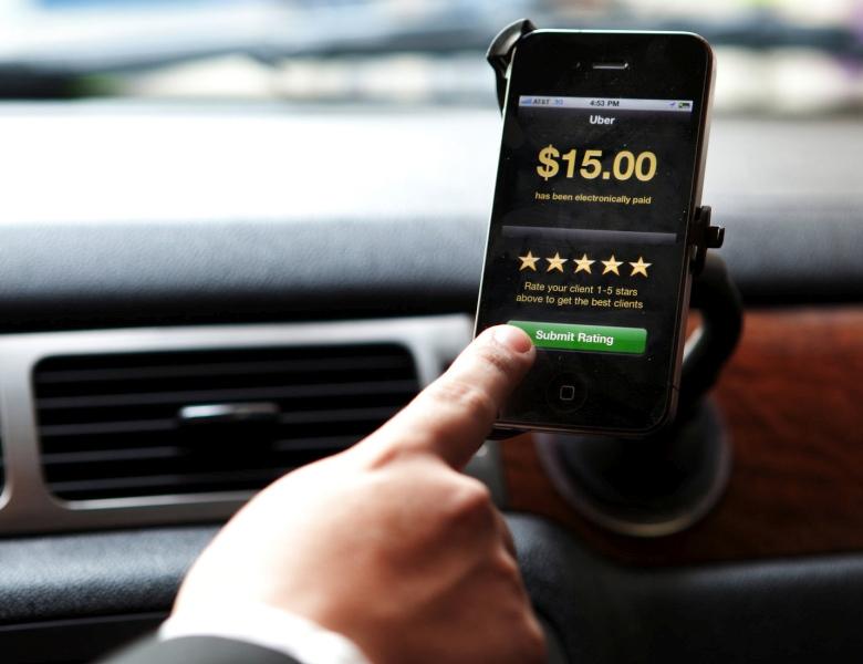 Uber - любой автомобиль как сервис (фото: techcrunch.com).