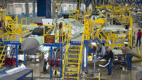 Дополненная реальность NGRAIN проходит тестирование на авиазаводе Lockheed Martin.