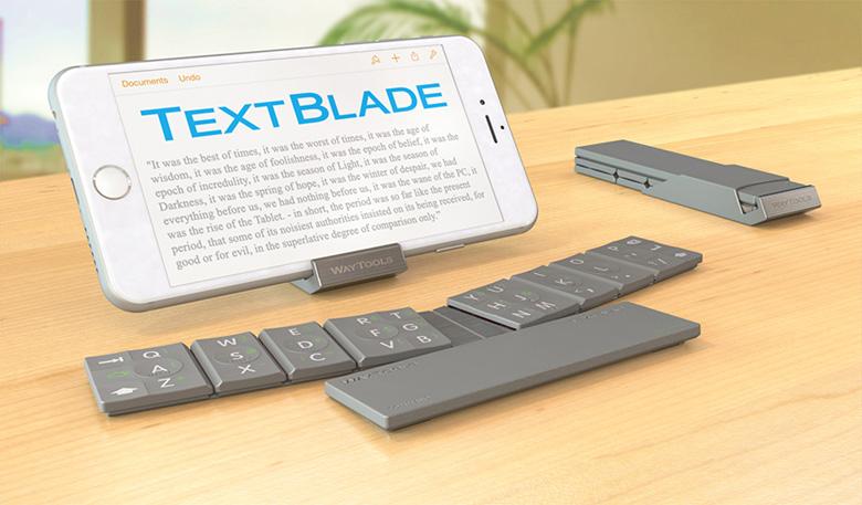 Складная клавиатура для телефона и планшета