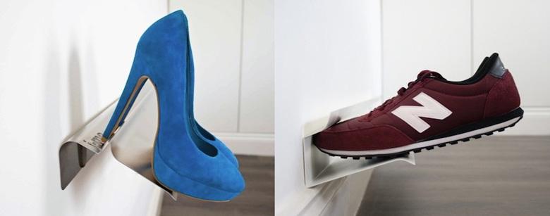 Несколько интересных систем хранения обуви