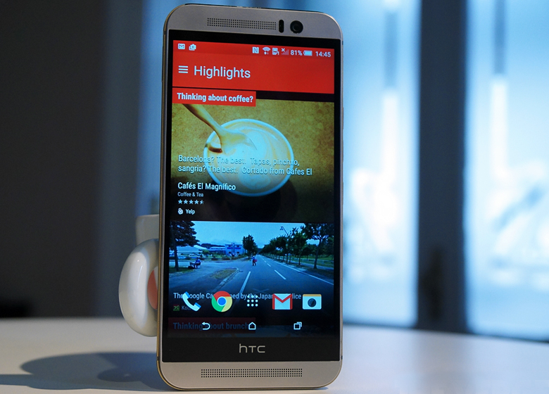 HTC One M9 (фото: theverge.com).