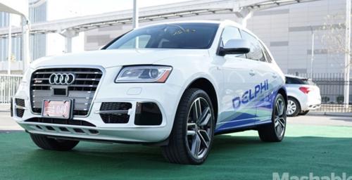 Автомобиль Audi Q5 с автономным управлением отправится 22 марта в пробег из Сан-Франциско до Нью-Йорка.