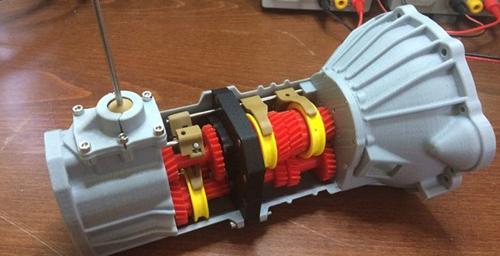 Создана копия 5-скоростной трансмиссии автомобиля Toyota 22RE.