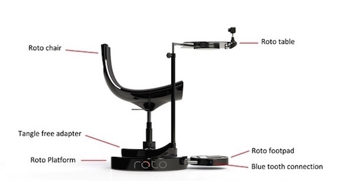На Kickstarter вышла поворотная платформа для виртуальной реальности Roto.