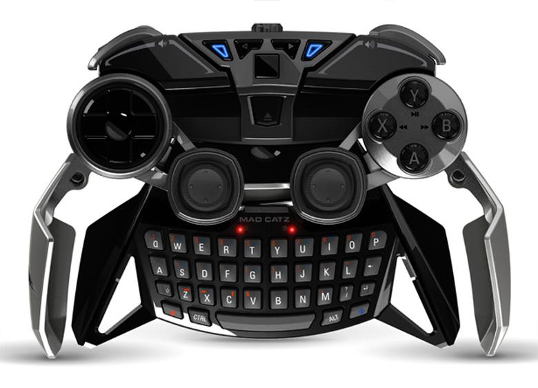 Завораживающе красивый контроллер Mad Catz для любителей игр на Android