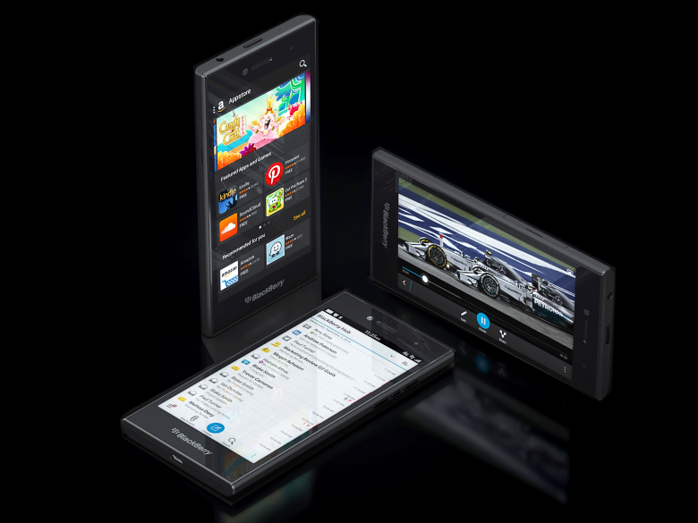BlackBerry Leap - строгий дизайн и функциональность (фото: blogs.blackberry.com).