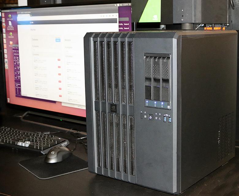 Nvidia DIGITS DevBox - суперкомпьютер на рабочем столе (фото: legitreviews.com).