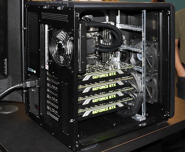 Устройство Nvidia DIGITS DevBox (фото: legitreviews.com).