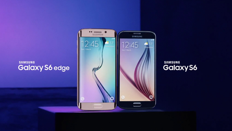 Смартфоны Samsung Galaxy S6 и S6 Edge (фото: Samsung Mobile).