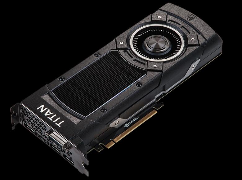 Система охлаждения NVTTM с испарительной камерой на GeForce GTX TITAN X (фото: geforce.com).